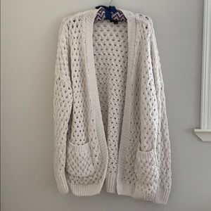Lumiere Cozy Oversized Open Front Sweater